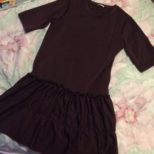 Burgundy Zara dress